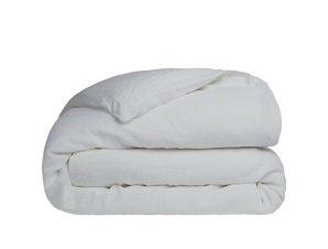Παπλωματοθήκη Διπλή Sunshine Home Cotton Feelings 106 Light Grey 200×250
