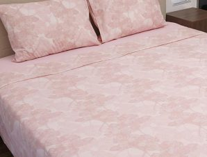 Παπλωματοθήκη Διπλή Sunshine Home Cotton Feelings 2032 Pink 200×250