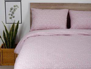 Παπλωματοθήκη Διπλή Sunshine Home Cotton Feelings 920 Pink 200×250
