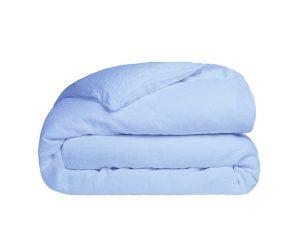 Παπλωματοθήκη Υπέρδιπλη Sunshine Home Cotton Feelings 103 Light Blue 230×250