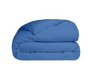 Παπλωματοθήκη Υπέρδιπλη Sunshine Home Cotton Feelings 104 Blue 230×250
