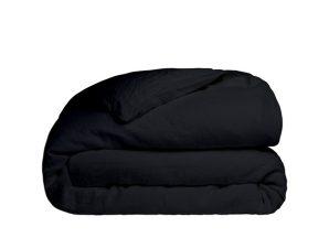 Παπλωματοθήκη Υπέρδιπλη Sunshine Home Cotton Feelings 111 Black 230×250