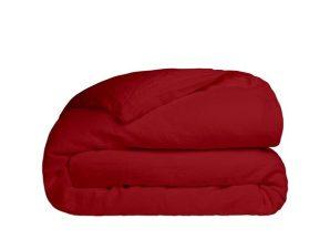 Παπλωματοθήκη Υπέρδιπλη Sunshine Home Cotton Feelings 113 Red 230×250