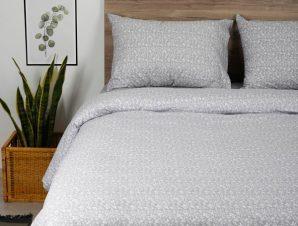 Παπλωματοθήκη Υπέρδιπλη Sunshine Home Cotton Feelings 920 Grey 230×250