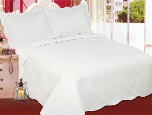 Σετ Κουβερλί Μονό Silk Fashion Λαχούρι Cream & Cream 160×220