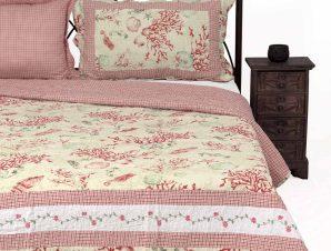 Σετ Κουβερλί Μονό Silk Fashion 1017 Ρόζ 160×220