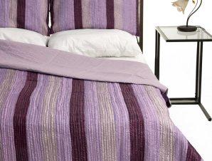 Σετ Κουβερλί Μονό Silk Fashion 6329 Μώβ 160×220