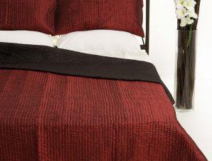 Σετ Κουβερλί Μονό Silk Fashion 6330 Μπορντώ 160×220