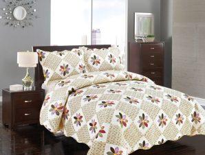 Σετ Κουβερλί Υπέρδιπλο Silk Fashion Μαργαρίτα 220×240