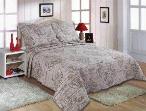 Σετ Κουβερλί Υπέρδιπλο Silk Fashion 1511-40 220×240