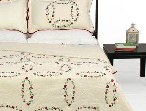 Σετ Κουβερλί Υπέρδιπλο Silk Fashion 2088 220×240