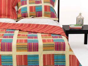 Σετ Κουβερλί Υπέρδιπλο Silk Fashion 710 220×240