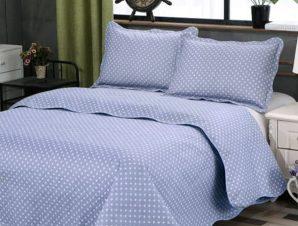 Σετ Κουβερλί Υπέρδιπλο Silk Fashion Dot Grey 220×240