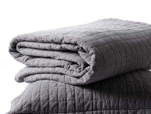 Σετ Κουβερλί Υπέρδιπλο Silk Fashion Stonewashed Grey 220×240