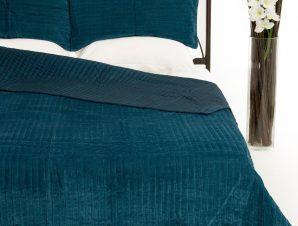 Σετ Κουβερλί Υπέρδιπλο Silk Fashion Velvet Ράφ 220×240