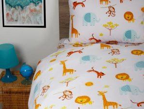 Σετ Σεντόνια Μονά με Λάστιχο Sunshine Home Cotton Feelings 40 105×205+30