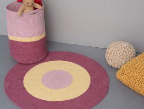 Χαλί Tricolore Pink Palamaiki 140X200