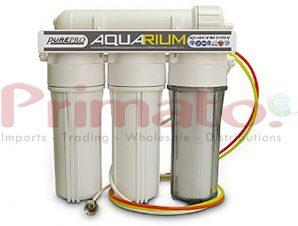 Αντίστροφη ώσμωση 4 σταδίων για ενυδρεία με φίλτρα made in USA. Primato RO-Aquarium-4