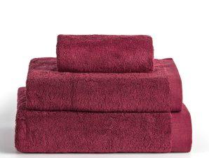 Πετσέτα Προσώπου 50X100 Kentia Stylish Brand Bordeaux