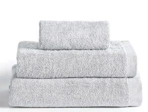 Πετσέτα Μπάνιου 90X150 Kentia Stylish Brand Silver