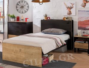 Παιδικό κρεβάτι ημίδιπλο BL-1303 – BL-1303
