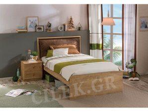 Παιδικό κρεβάτι ημίδιπλο MO-1305 – MO-1305