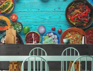 Μεξικάνικο φαγητό Φαγητό Ταπετσαρίες Τοίχου 82 x 123 cm